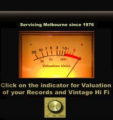 Click for Valuation of your Records and Vintage Hi Fi